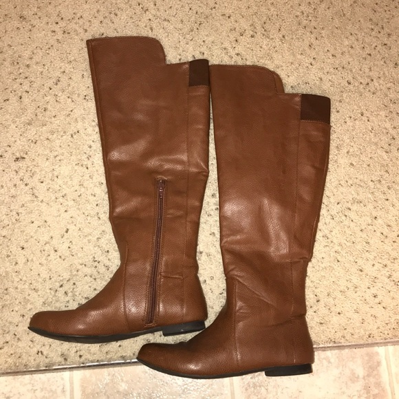 Tiara Over The Knee Wide Calf Boot By